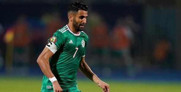 阿爾及利亞核心馬列斯養足精力踢淘汰賽。